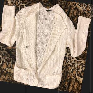 Generation Love white cardigan sweater